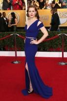 Amy Adams con un vestido de Antonio Berardy
