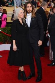 Jared Leto y Constance, su madre.